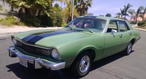 1972 Ford Maverick 4 Door For Sale In San Diego California