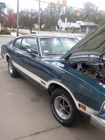 1975 Ford Maverick Grabber For Sale In Kalamazoo Michigan