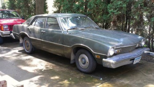 1973 Ford Maverick 4 Door For Sale in Stillwater, Minnesota