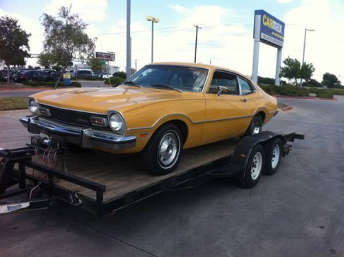 1973 Ford Maverick 2 Door For Sale In Round Rock Texas