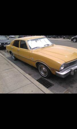1974 Ford Maverick 4 Door For Sale in Riverbank, California