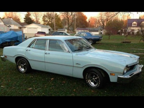 1976 Ford Maverick 4 Door For Sale in Vincennes Indiana