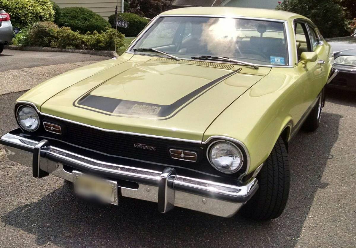 1974 ford maverick two door for sale in north jersey new jersey. Cars Review. Best American Auto & Cars Review
